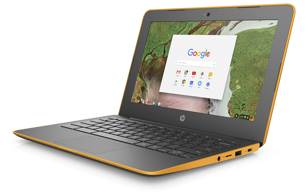 2 new, rugged HP Chromebooks announced for CES 2018
