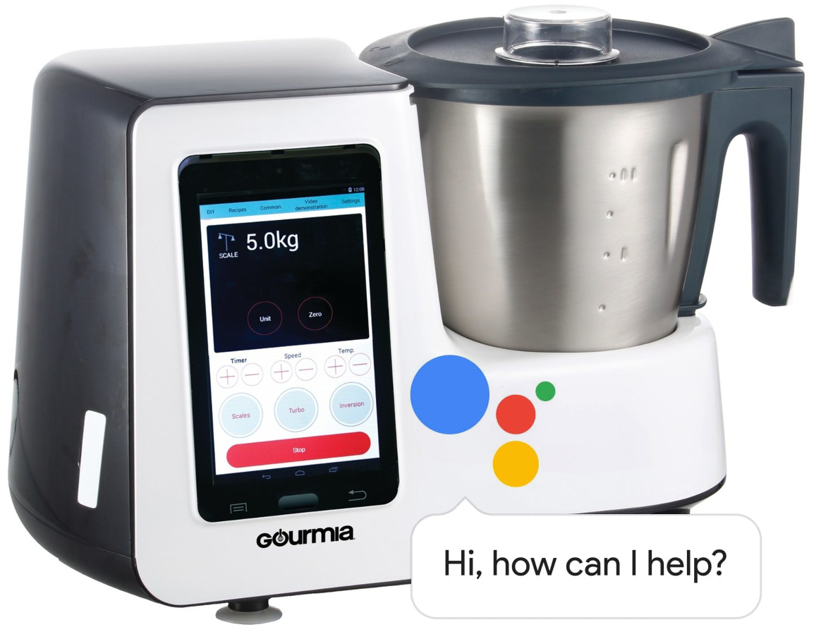 Charmant 2018 Is Shaping Up To Be The Year Of The Voice Assistant, And Gourmia Wants  To Bring That Magic To All The Dumb Appliances In Your Kitchen.