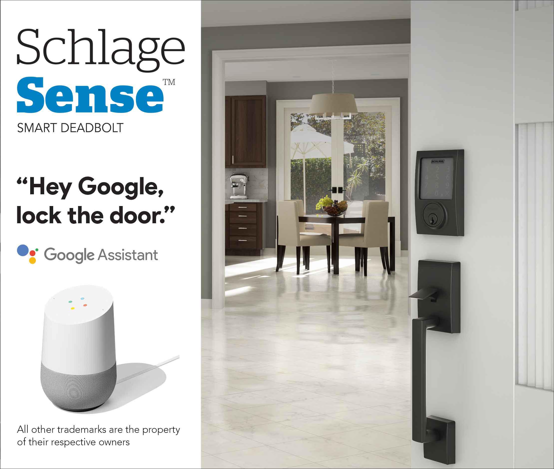 Google Home Smart Deadbolt