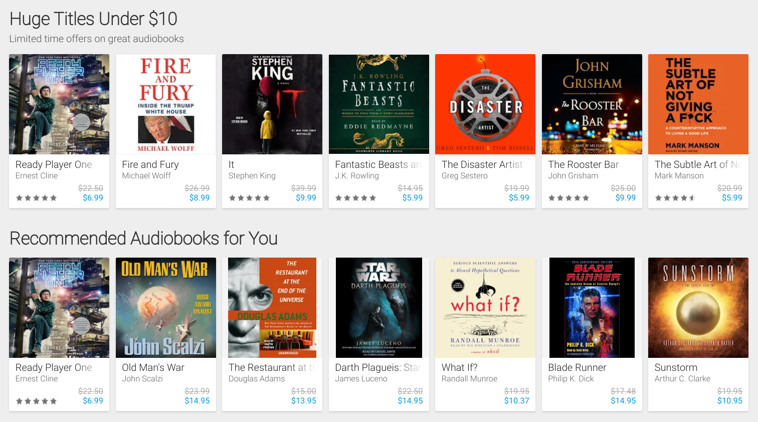 Audiobooks Now Officially Available From Google Play