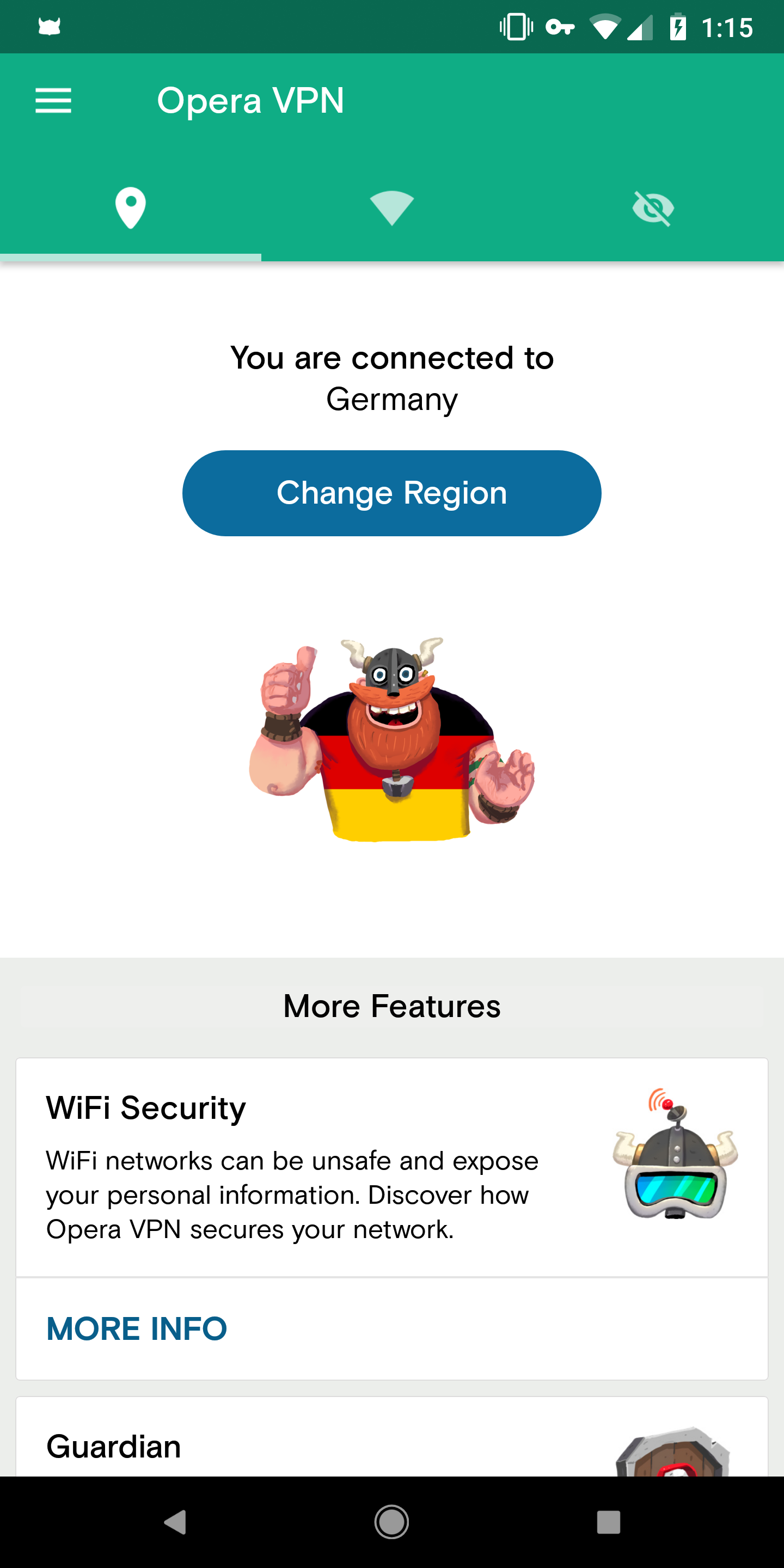 Update: It's back] Opera VPN has disappeared from the Play Store
