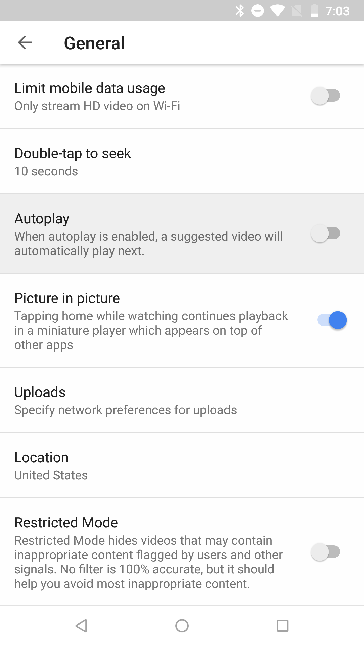 Youtube V1301 Continues Development On Dark Mode May Enable Swipe Precise Denzel M Hitam 42 Autoplay Settings
