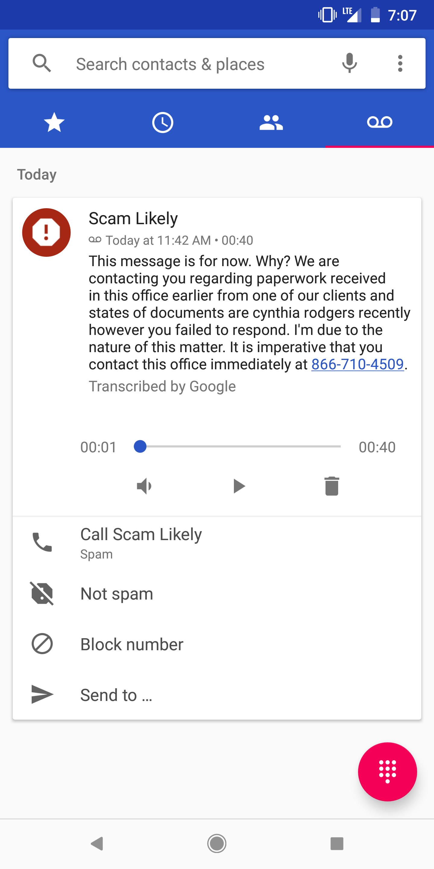 T Mobile Customers Are Now Seeing Voicemail Transcripts In Google