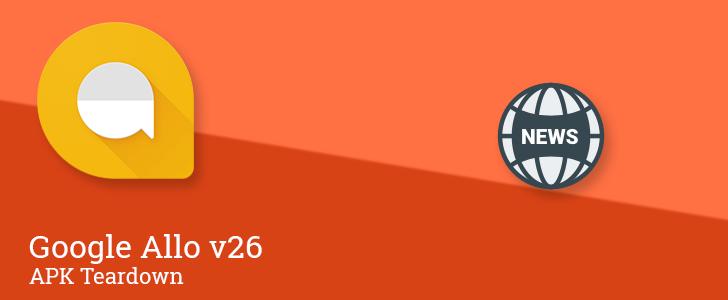 Allo v26 prepares multi-account support, breaking news