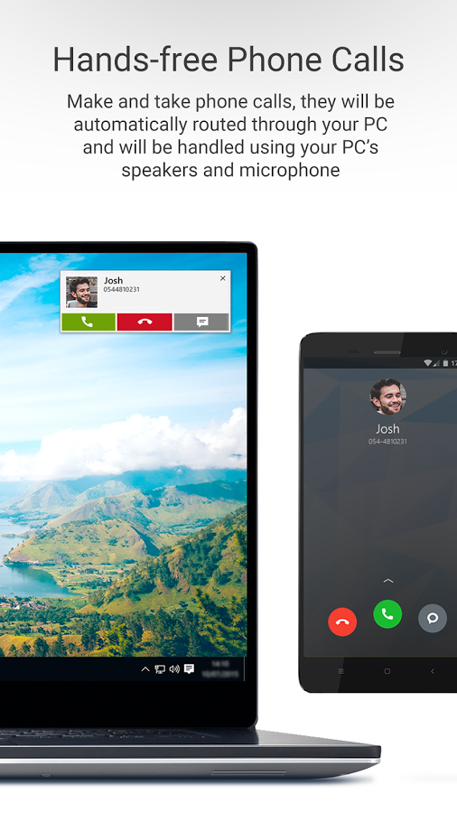 Dell Mobile Connect mirrors your phone's screen on your Dell