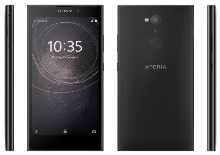 Sony Xperia XA2, Xperia XA2 Ultra, Xperia L images and specifications leaked