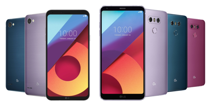 LG G6 and Q6 are in for new V30 treats