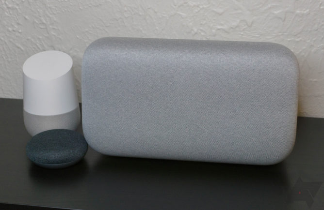 Google to launch smart speakers with touchscreens