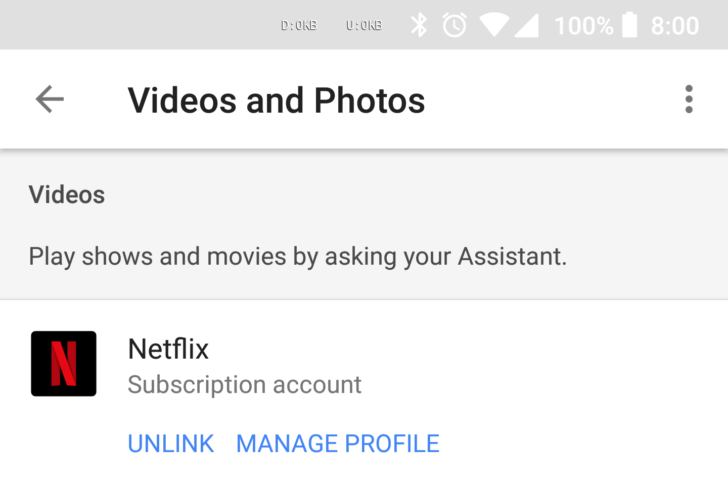 Google Assistant can match your voice to your Netflix profile