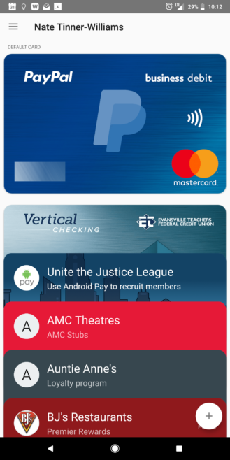 you can now add your paypal business debit mastercard to android pay. Black Bedroom Furniture Sets. Home Design Ideas