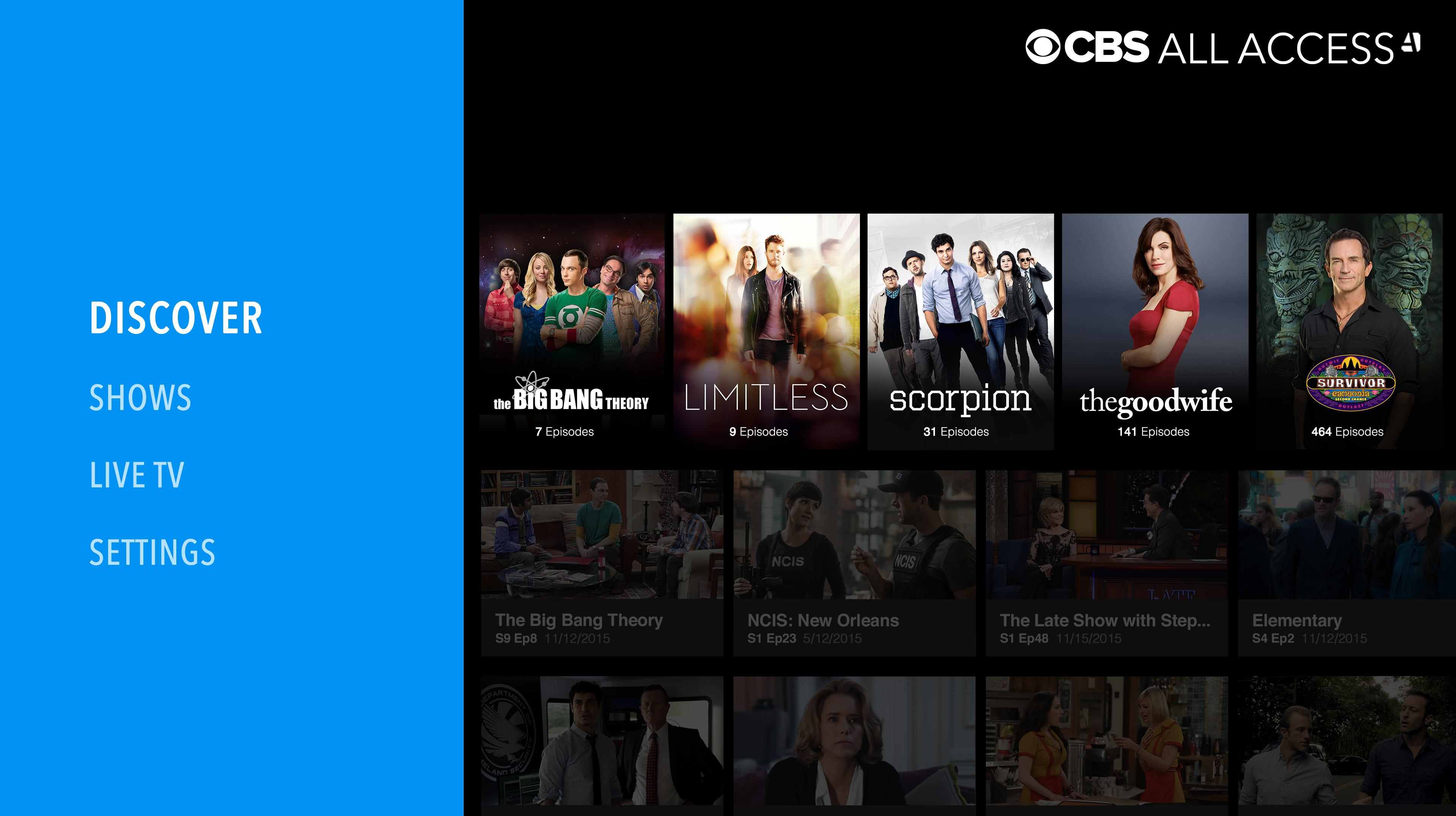 Cbs All Access App Updated With Support For Continuous Play