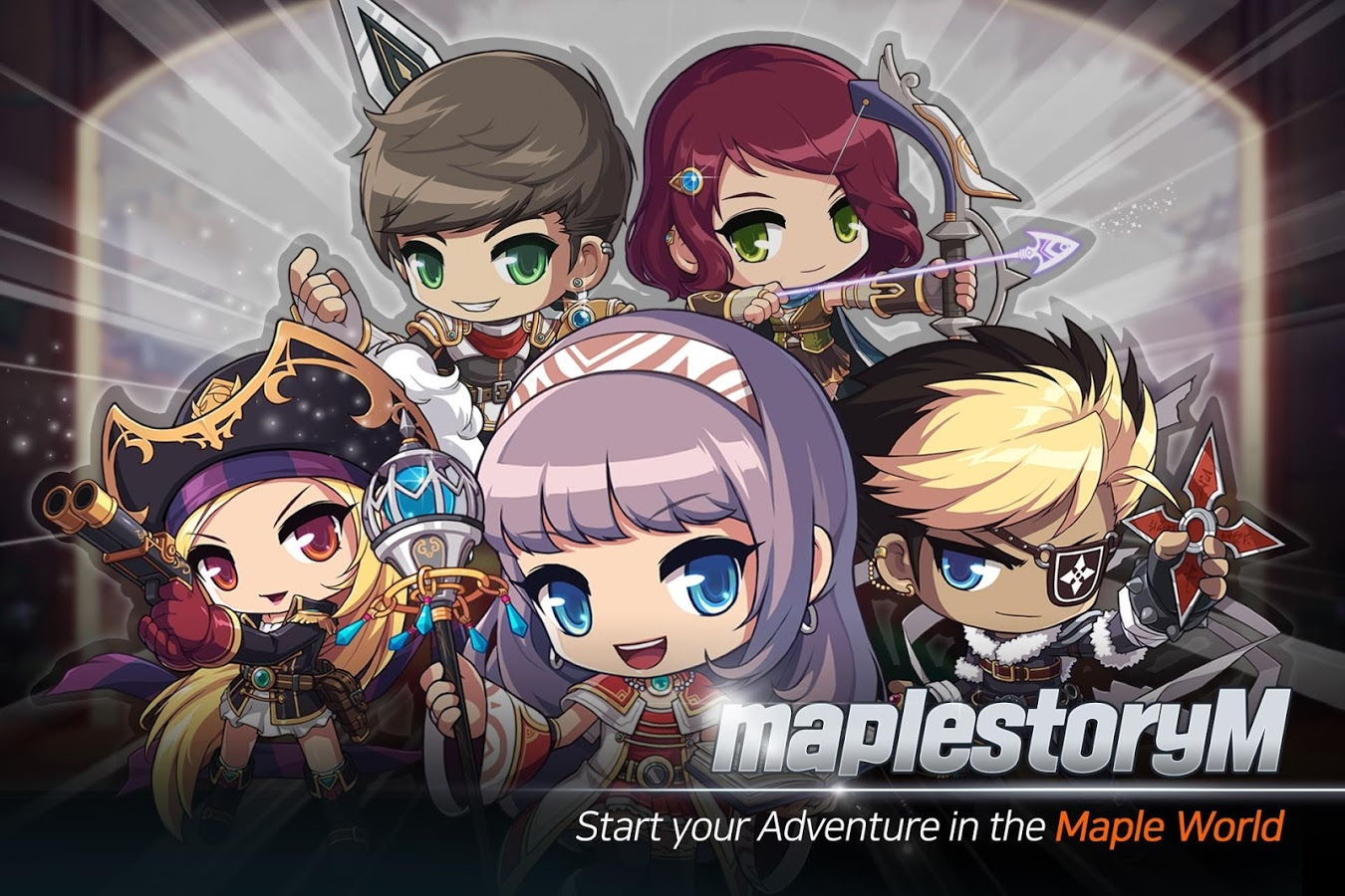 MapleStory M is available on the Play Store as an English language