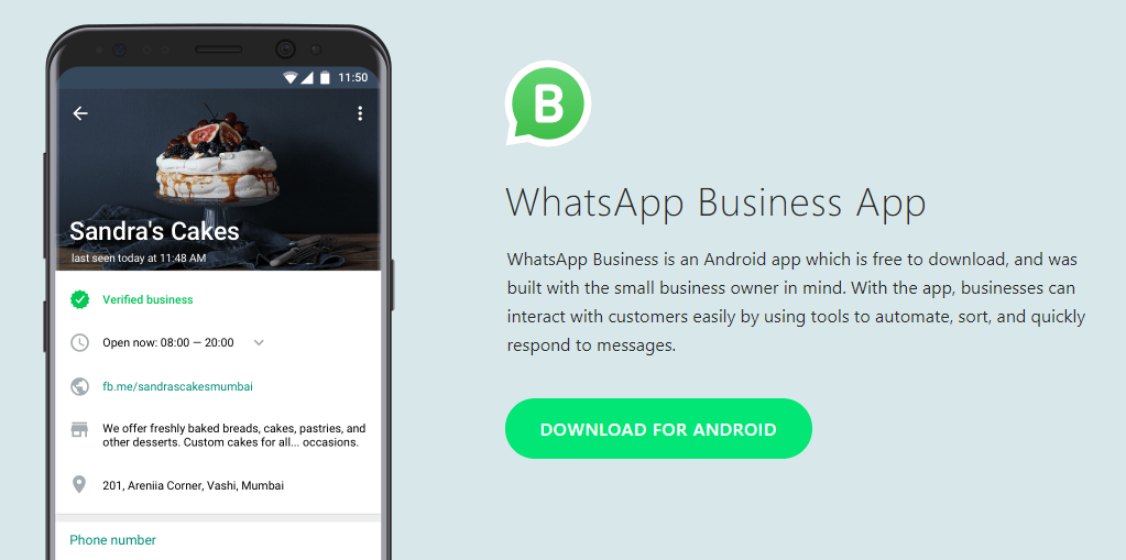 Whatsapp Business Launches Officially For Android In Indonesia Italy Mexico The Uk And The Usa Apk