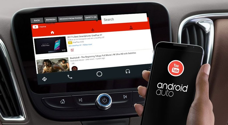 YouTubeAuto' brings YouTube playback to your Android Auto unit
