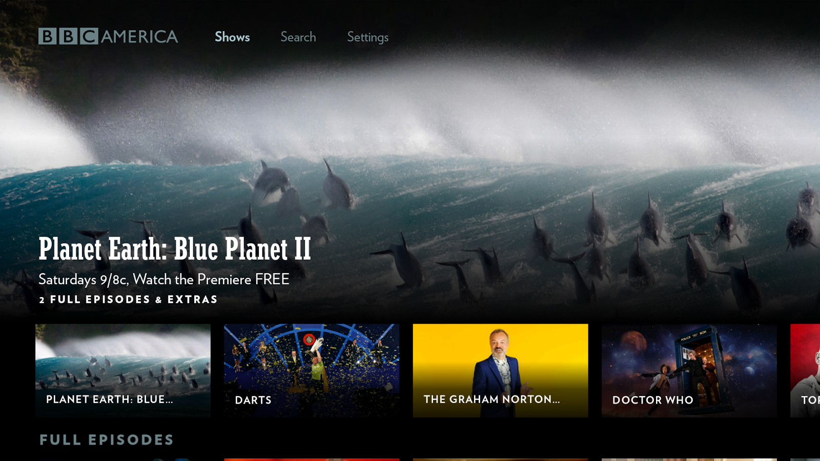 Bbc America Launches New Catch Up App For Android Tv Apk Download