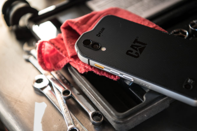 The First $999 Android! A Look At The Cat S61 Smartphone