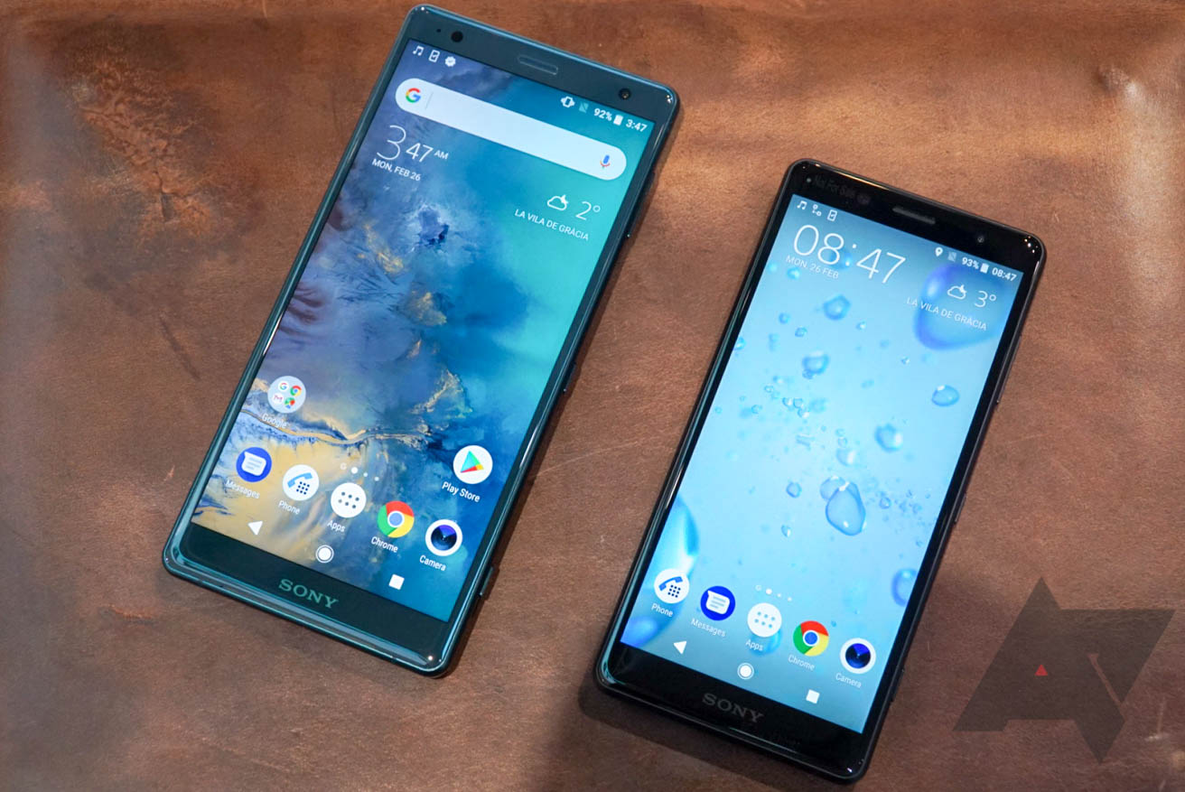 The Sony Xperia XZ2 and XZ2 Compact are coming to Best Buy