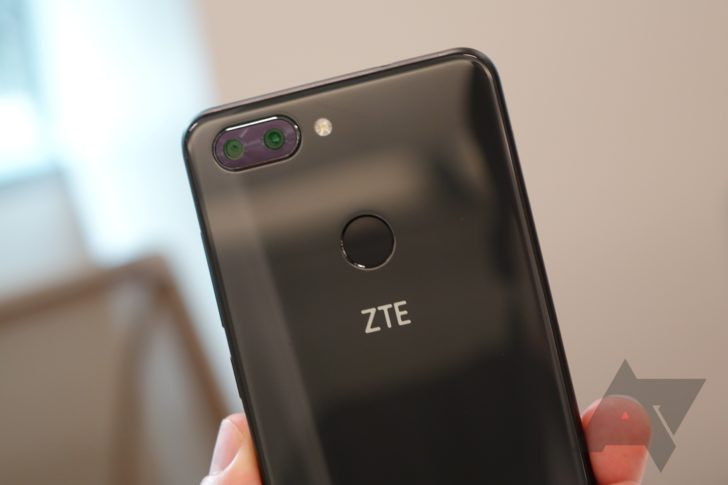 ZTE launches full-screen Blade V9 smartphone
