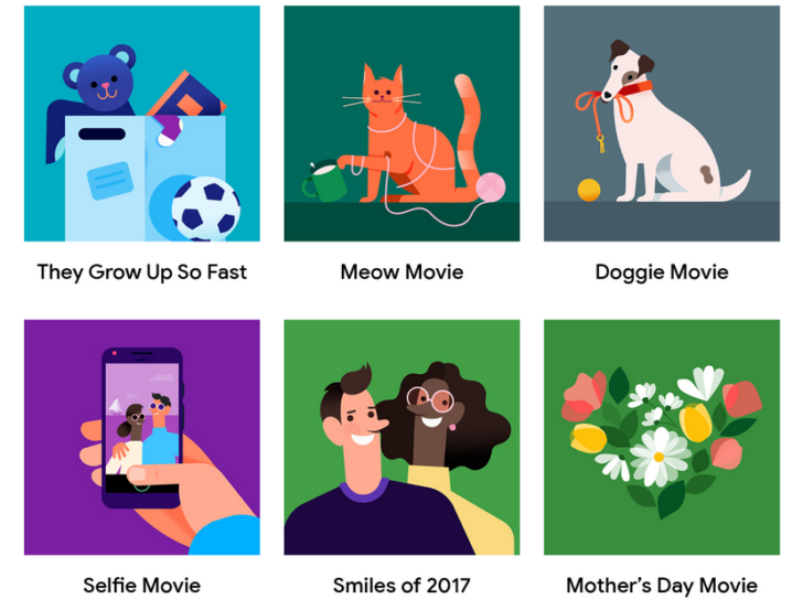 Google Photos Uses AI to Turn Your Photos Into Themed Movies