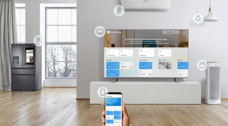 samsung smartthings app overhaul coming in march. Black Bedroom Furniture Sets. Home Design Ideas