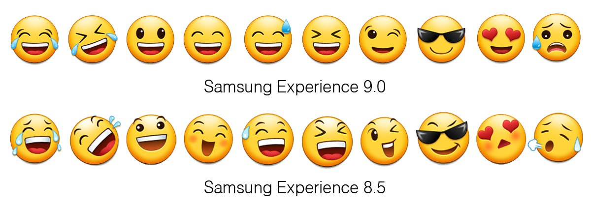samsung s emojis are no longer with android 8 0 oreo update
