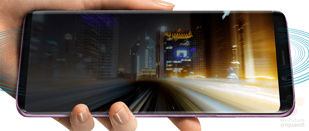 Galaxy S9 立体扬声器