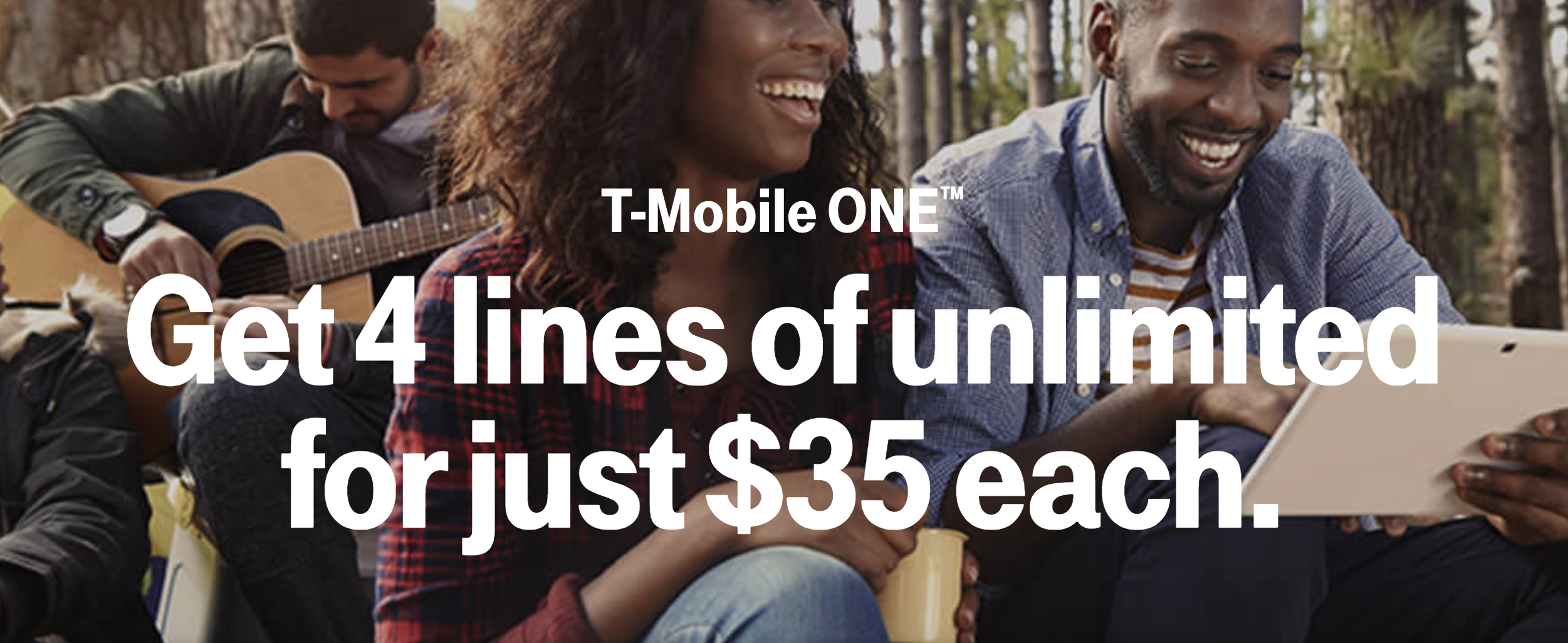 T Mobile Is Offering 4 One Lines For 35 Each For Valentine S Day