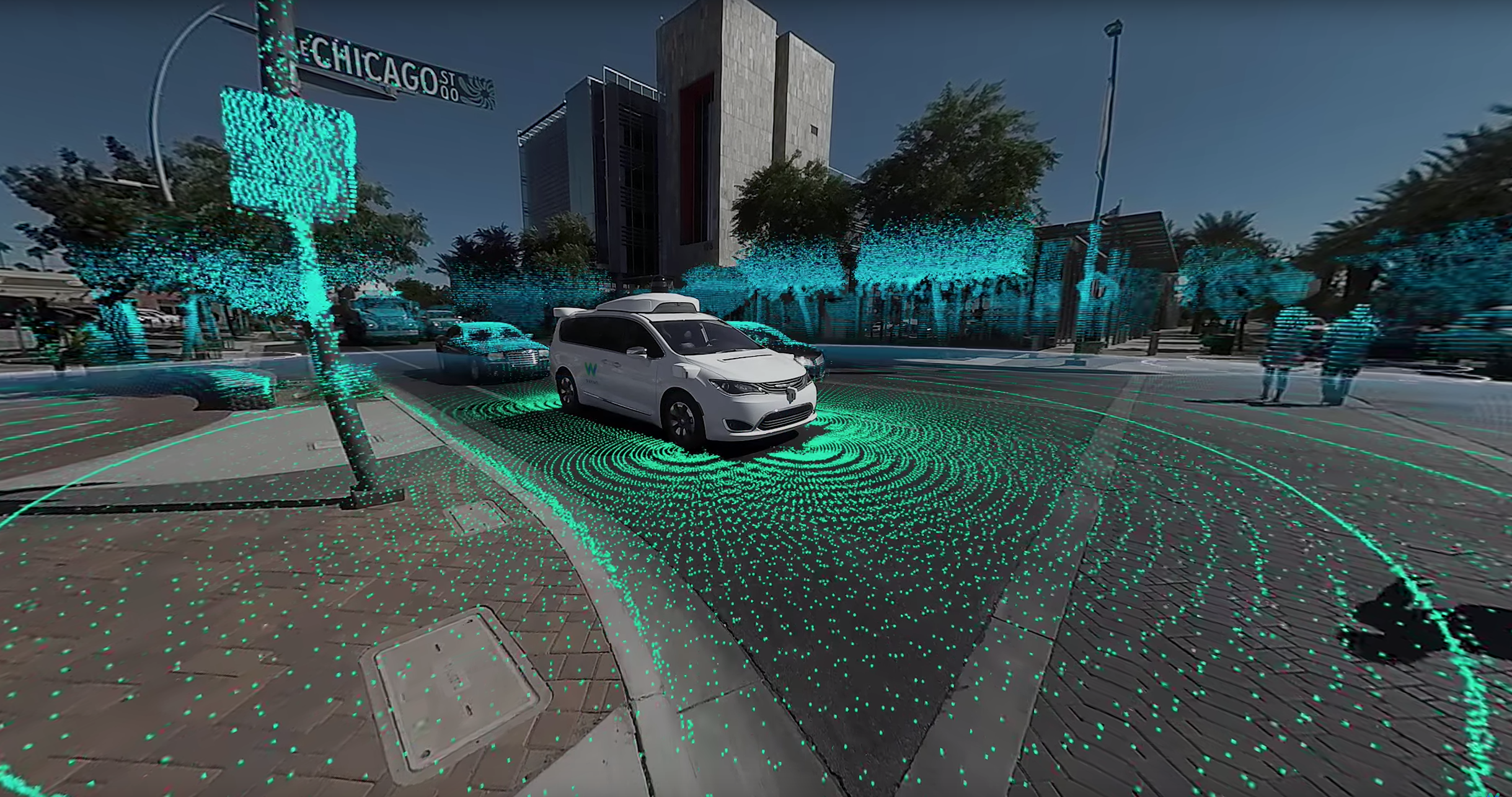 Waymo's new 360-degree video uses incredible visuals to explain how its self-driving tech works
