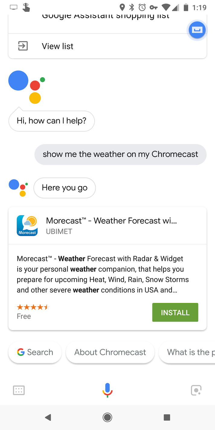 Update: 1st gen Chromecast unsupported] The first Google
