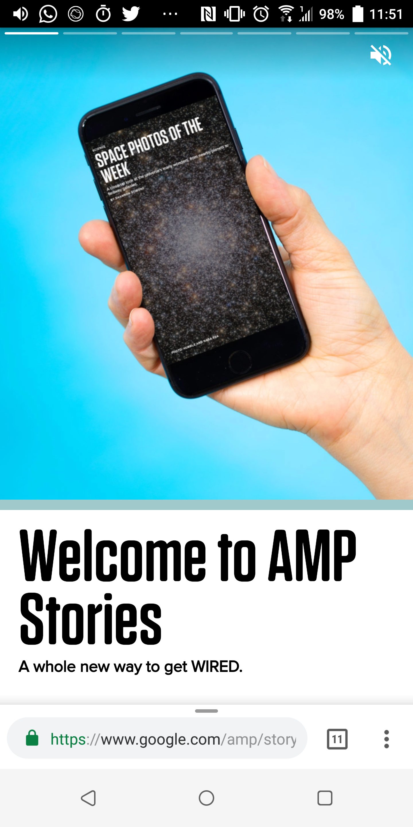 AMP Stories make news articles on Google Search more interactive