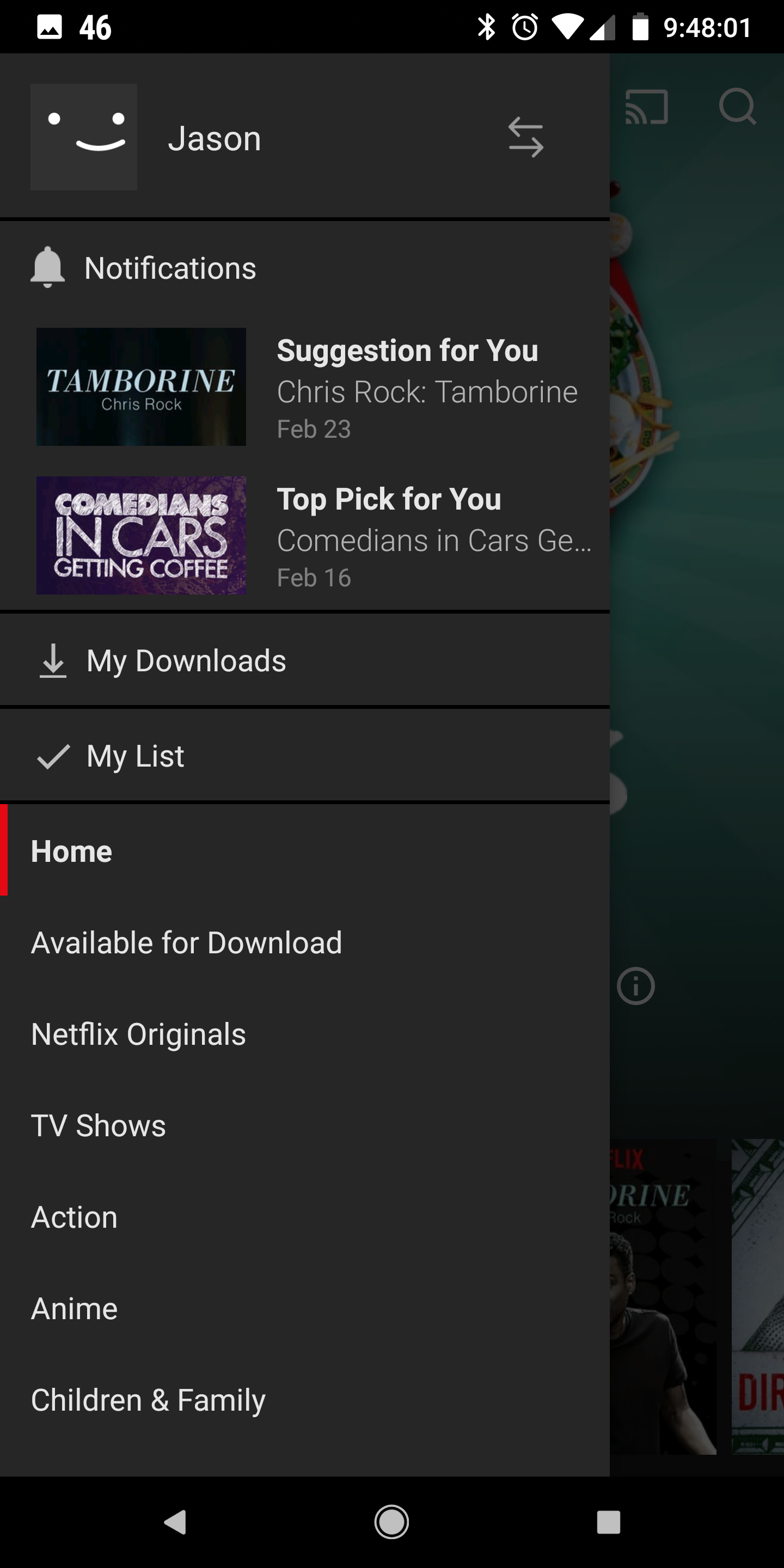 Update: Rolling out to more users with latest Beta] Netflix