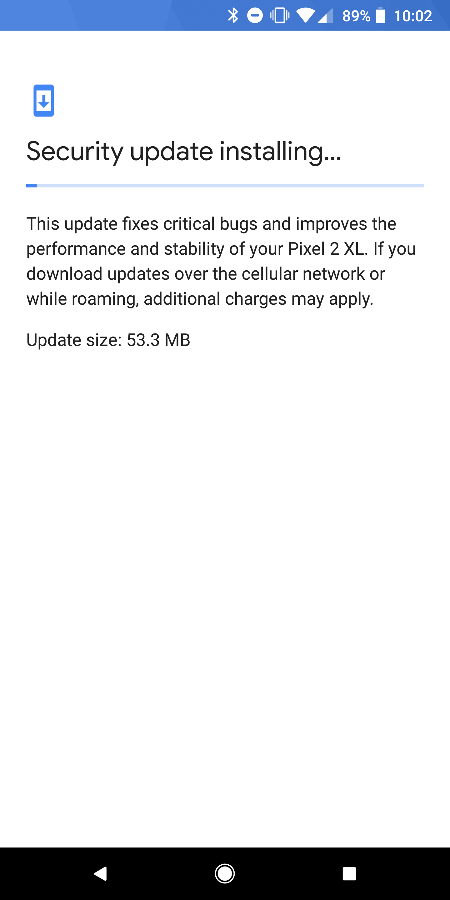 Google Play Services 12 2 09 appears to fix Android's 'Check