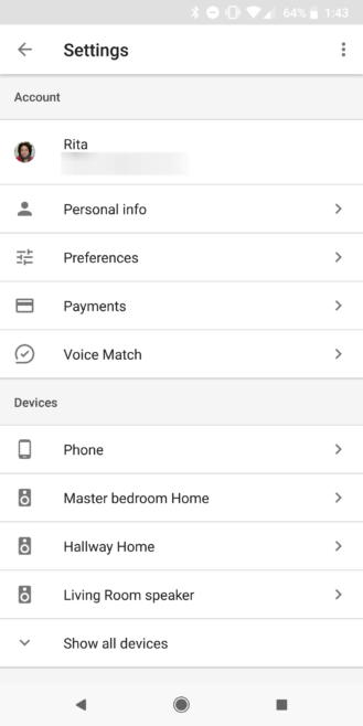 Unless Otherwise Specified All Of The Following Settings Can Be Reached In More Google Home App