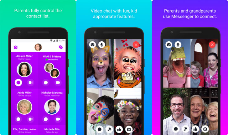 Facebook Messenger Kids For Android Released Today
