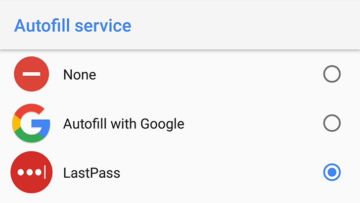 LastPass finally gets support for Oreo autofill, keeps