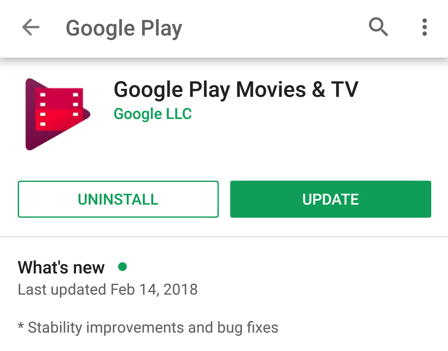 Update: One more design] Google testing a colorless shapeless Play ...