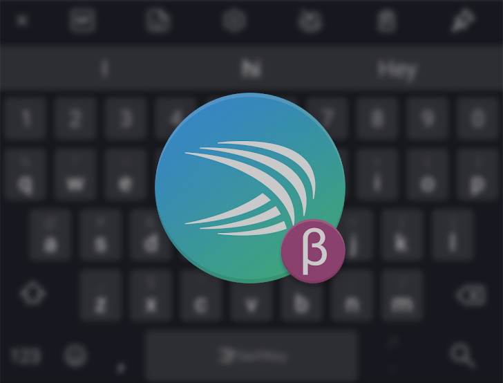 Swiftkey Beta Update Includes Toolbar For Quick Access To Features