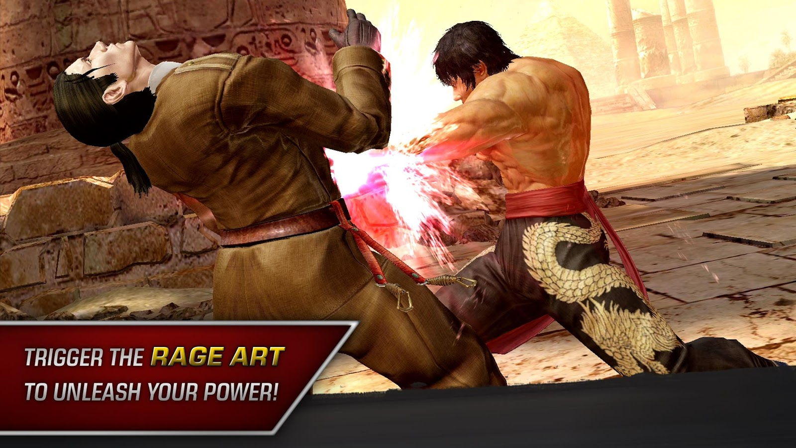 Bandai Namco's free-to-play fighting game 'Tekken Mobile