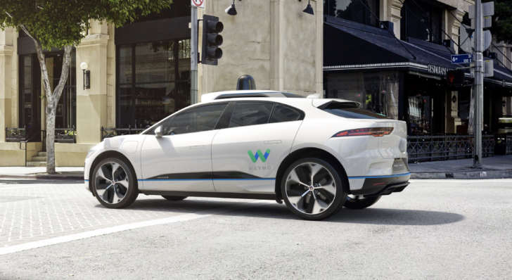 Waymo announces new fleet of self-driving Jaguar I-Pace crossovers