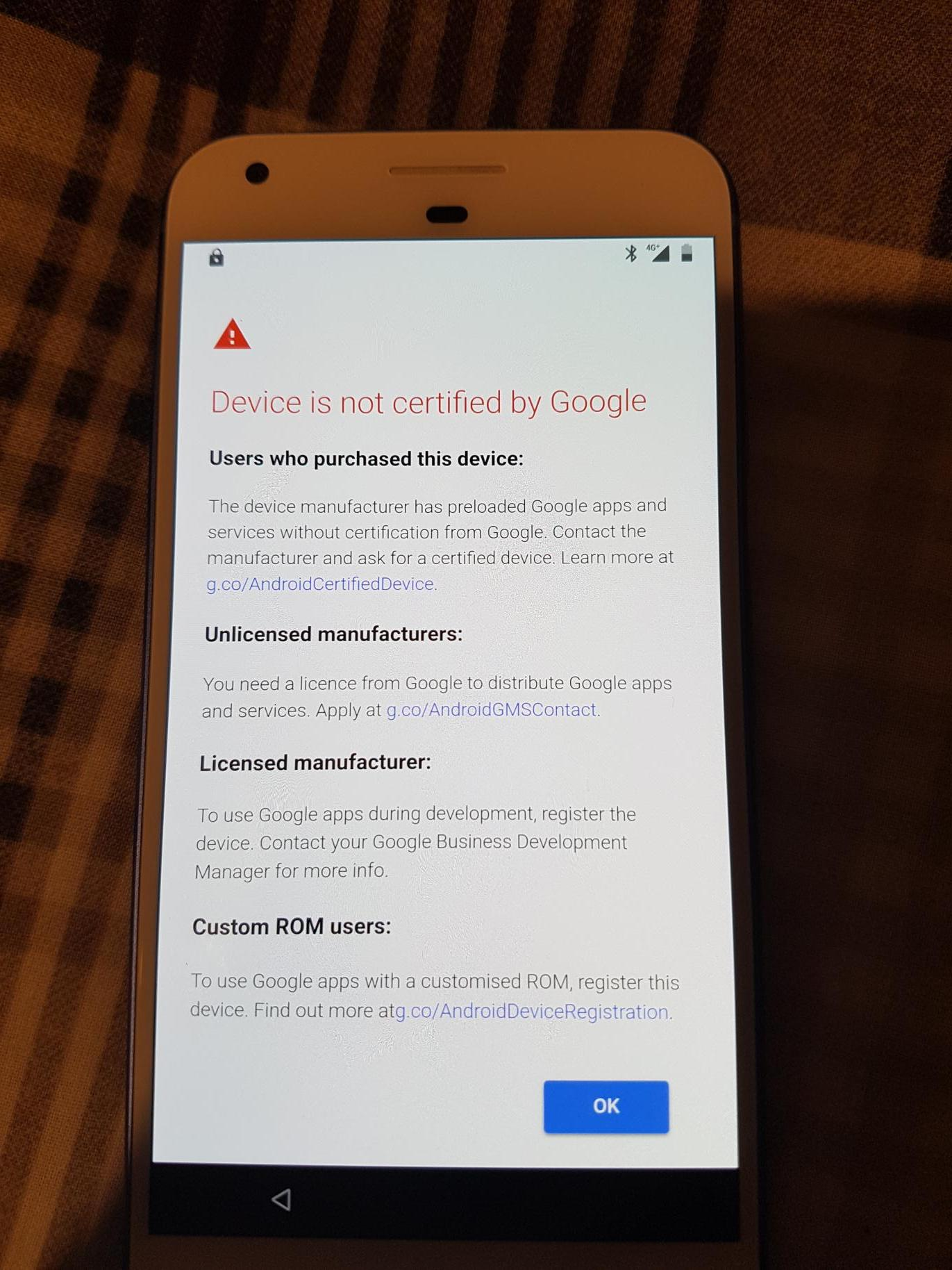 Google is starting to block GApps on 'uncertified' devices, but you
