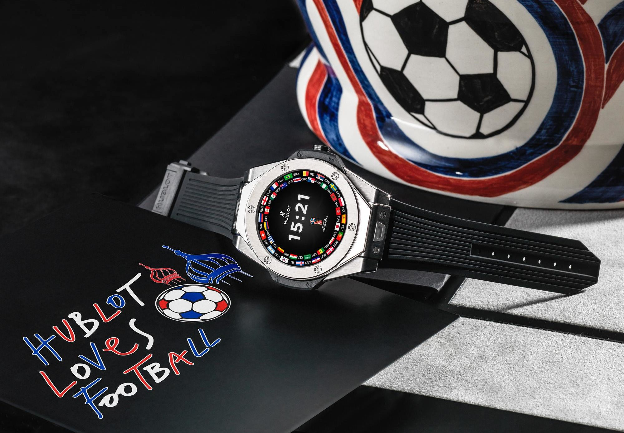 Hublot S 5 200 Wear Os Watch To Be Worn By 2018 Fifa