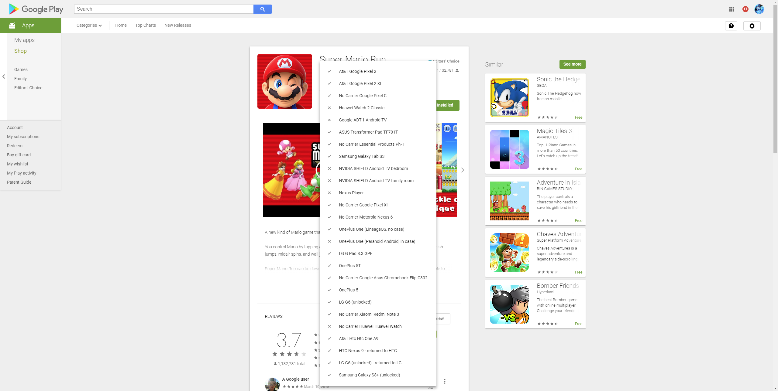 Update: More details] Google is rolling out a new web Play
