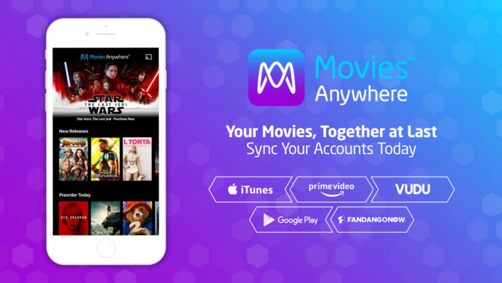 Movies Anywhere Adds FandangoNOW