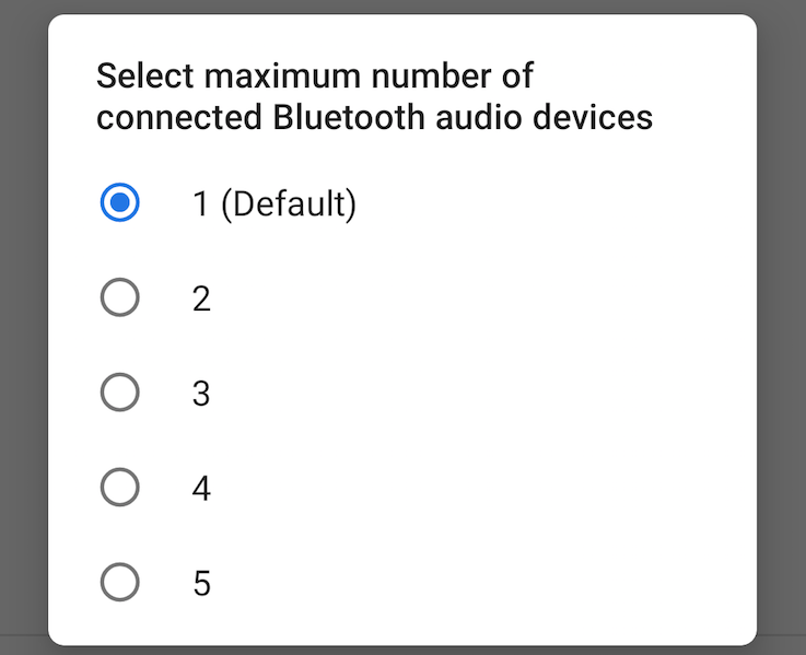 Android P feature spotlight: Up to 5 Bluetooth audio devices