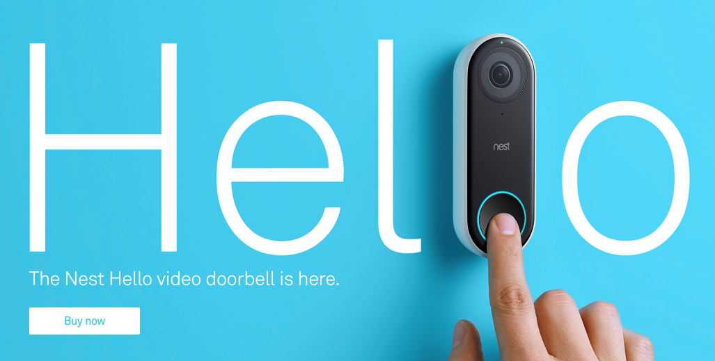 Update: Assistant supports doorbells] Nest Hello and long