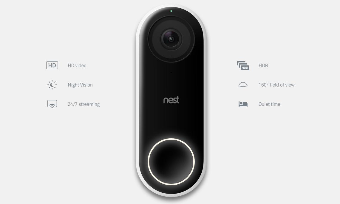 Update: Assistant supports doorbells] Nest Hello and long