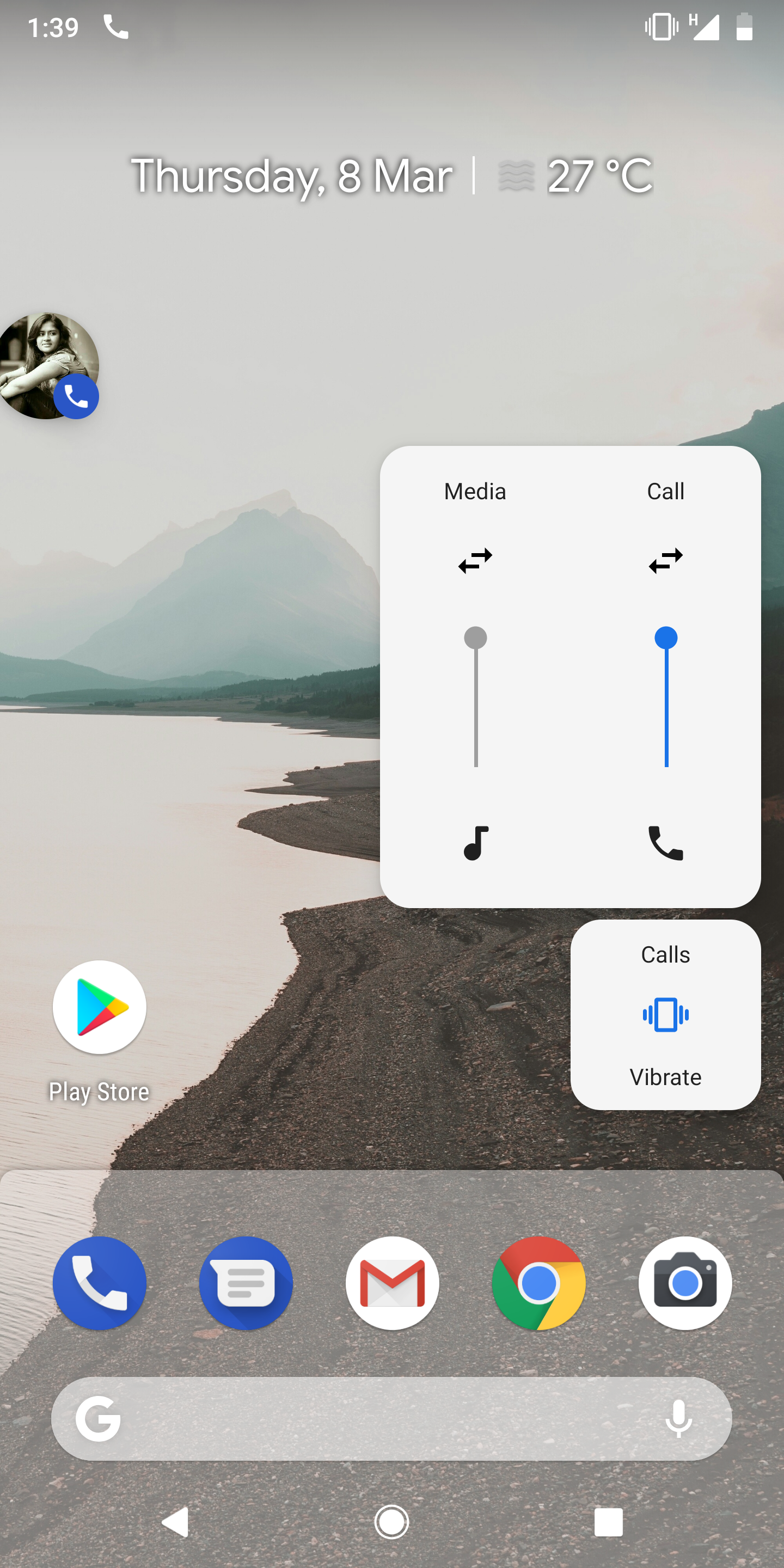 Android P feature spotlight: Volume buttons change media volume by