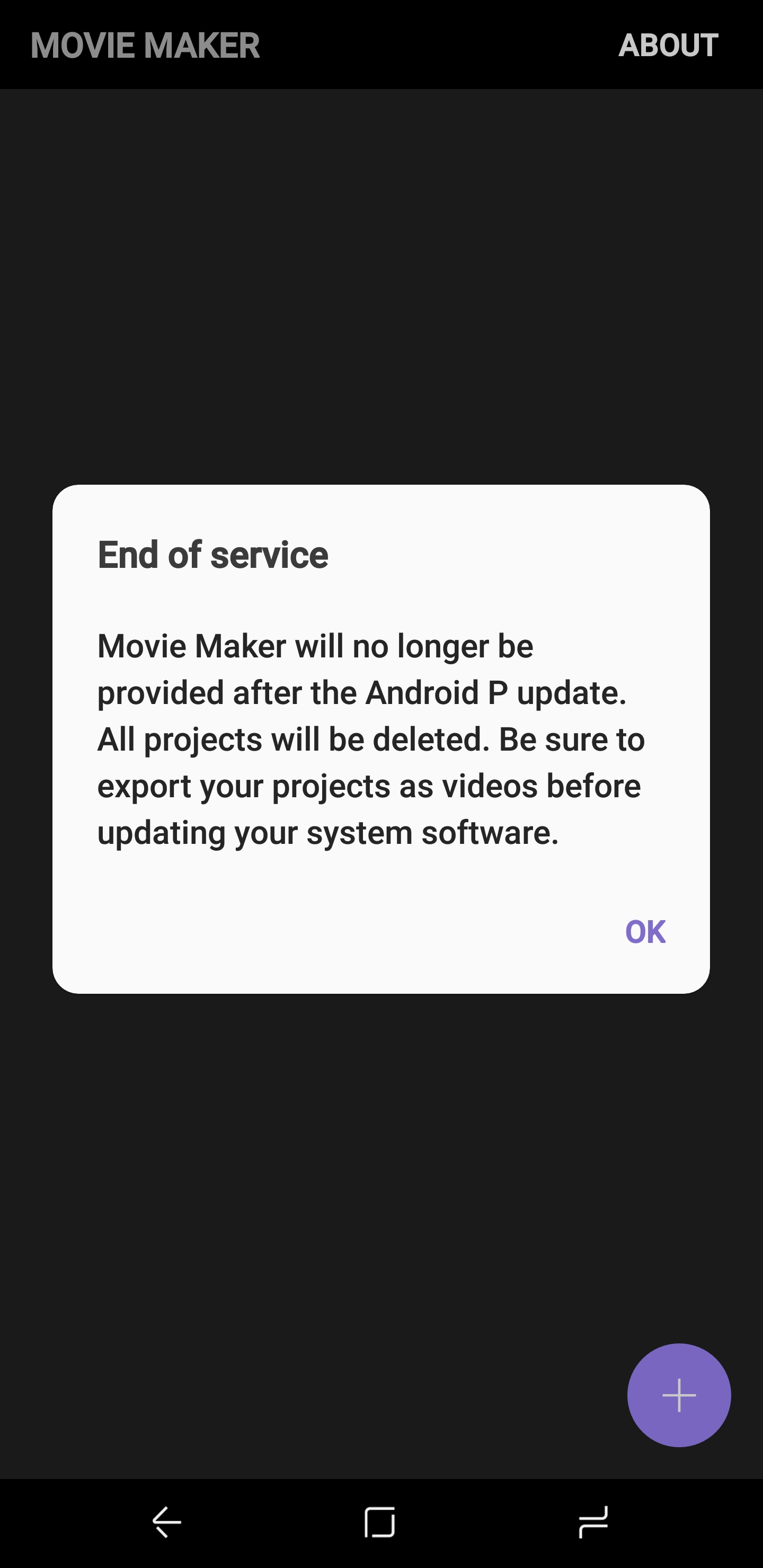 Samsung Movie Maker To Be Discontinued After Android P Update
