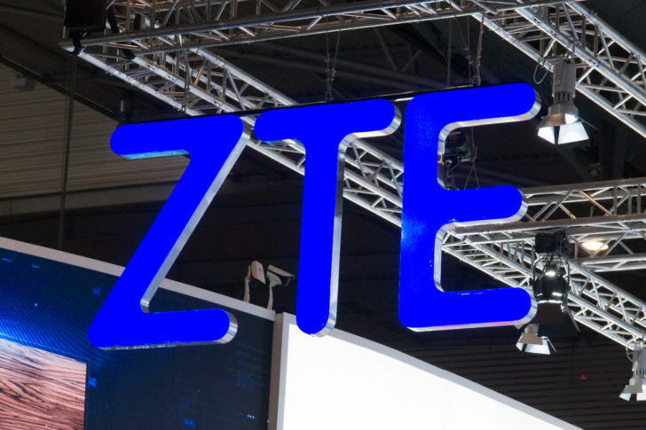 USA  government bans American companies from selling components to ZTE