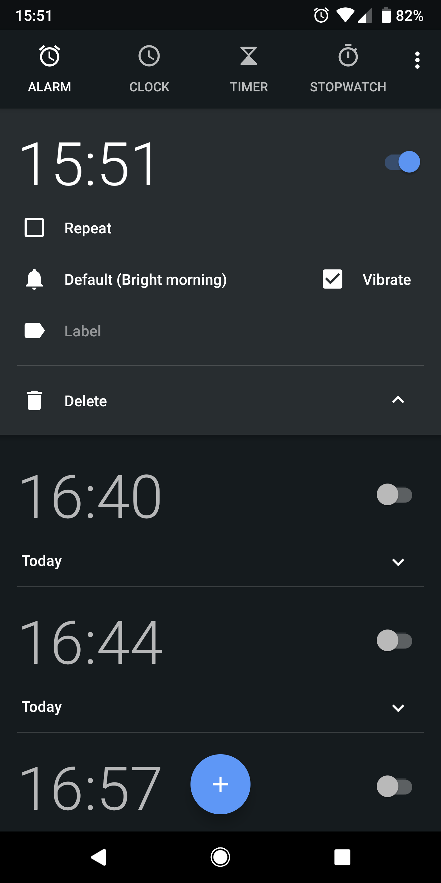 Update: Gone in DP2] Android P feature spotlight: New alarm